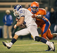 SEATTLE, WA - OCTOBER 29: Seattle Prep vs Rainier Beach at Memorial Stadium in Seattle, WA on Friday, Oct. 29, 2010. Seattle Prep won the game 23 to 14.