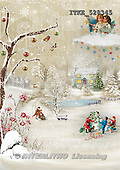 Isabella, CHRISTMAS LANDSCAPE, paintings+++++,ITKE528345,#XL#