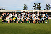 Gross-Gerau 29.06.2016: FFH-Team spielt gegen eine Auswahl des VfR Gro&szlig;-Gerau, VfR-Sportplatz<br /> Mannschaftsfoto der beiden Teams