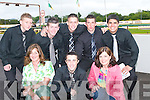 7007-7010.UNDER 21: Some of the Kerry Eircom under 21 players at the Denny's Kerry District League Fundraiser night on Saturday at Kingdom Greyhound Stadium, Tralee. Front l-r: Maria Guthrie, Jeffrey Roche and Teresa Leonard. Back l-r: Wayne Conway, Robert Birdsall, Damien Quirke, Theo Diggin and Wayne Guthrie.