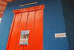 Puerta de casa colonial en Choroni,  Edo. Aragua, Venezuela