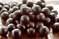 Photos & pictures of the famous Brazilian acai berries the super fruit anti oxident from the Amazon. Acai berries has been used to help weight loss. Stock-fotos & images