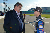 Mike Helton and Kasey Kahne (#5)