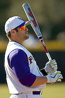 Kyle Roller #19 of the East Carolina Pirates at Clark-LeClair Stadium on February 19, 2010 in Greenville, North Carolina.   Photo by Brian Westerholt / Four Seam Images
