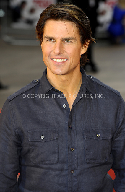 "WWW.ACEPIXS.COM . . . . .  ..... . . . . US SALES ONLY . . . . .....July 22 2010, London....Actor Tom Cruise at the UK premiere of ""Knight And Day"" on July 22 2010  in London....Please byline: FAMOUS-ACE PICTURES... . . . .  ....Ace Pictures, Inc:  ..Tel: (212) 243-8787..e-mail: info@acepixs.com..web: http://www.acepixs.com"