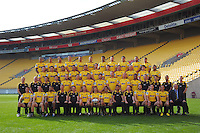 130516 Super Rugby - Hurricanes Team Photo