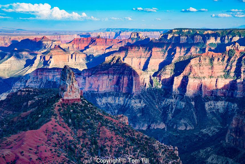 Point Imperial, Grand Canyon National Park, Arizona   North Rim  Colorado River