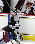 Kyle MacKinnon (Providence - 15), Carl Sneep (BC - 7) - The Boston College Eagles defeated the Providence College Friars 4-1 on Tuesday, January 12, 2010, at Conte Forum in Chestnut Hill, Massachusetts.