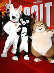 "HOLLYWOOD, CA. - November 17: Bolt, Mittens and Rhino  arrive at the World Premiere of Walt Disney's ""Bolt"" at the El Capitan Theatre on November 17, 2008 in Hollywood, California..."