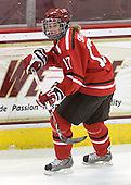 Courtney Sawchuk (St. Lawrence - 17) - The visiting St. Lawrence University Saints defeated the Boston College Eagles 4-0 on Friday, January 15, 2010, at Conte Forum in Chestnut Hill, Massachusetts.