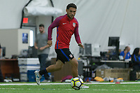 Nashville, TN - July 5, 2017: Cristian Roldan during Training Titans Practice Facility prior to their 2017 Gold Cup.