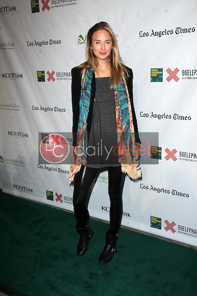 """Brianna Barnes<br /> at the Green Carpet World Premiere and Panel Discussion of """"Illicit Ivory,"""" Los Angeles Zoo Witherbee Auditorium, Los Angeles, CA 05-26-15<br /> David Edwards/DailyCeleb.Com 818-249-4998"""
