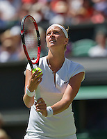 England, London, June 30, 2015, Tennis, Wimbledon, Petra Kvitova (CZE)<br /> Photo: Tennisimages/Henk Koster