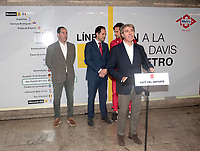 They are a total of 18 stations for the 18 teams that will compete in the final of the tennis tournament. The Davis Cup finals will be held for the first time in Madrid, between November 18 and 24 at the Caja Magica.<br /> Albert Costa, Ignacio Aguado, Feliciano lopez and Angel Garrido