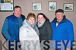 Pictured at the Irish National Coursing meeting in Clonmel last Sunday were l-r: Danny Carroll, Eileen Kelly, Tracey Carroll and Seamus Kelly all Lisselton.