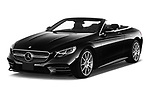 2019 Mercedes Benz S-Class - 2 Door Convertible Angular Front stock photos of front three quarter view