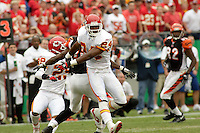 Chiefs cornerback Ty Law in action against the Bengals at Arrowhead Stadium in Kansas City, Missouri on September 10, 2006. Cincinnati won 23-10.