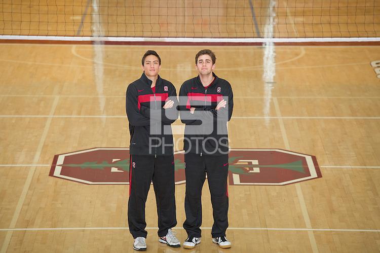 Stanford, Ca-Friday, Dec. 2, 2010: Stanford Men's Volleyball Team Photos.