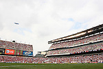 29 May 2010: Over 55,000 fans attended the game. The United States Men's National Team defeated the Turkey Men's National Team 2-1 at Lincoln Financial Field in Philadelphia, Pennsylvania in the final home warm up match to the 2010 FIFA World Cup in South Africa.