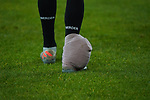 18.01.2020, Merkur Spielarena, Duesseldorf , GER, 1. FBL,  Fortuna Duesseldorf vs. SV Werder Bremen,<br />  <br /> DFL regulations prohibit any use of photographs as image sequences and/or quasi-video<br /> <br /> im Bild / picture shows: <br /> Leonardo Bittencourt (Werder Bremen #10),  hat sich verletzt Trägt einen Verband .. <br /> <br /> Foto © nordphoto / Meuter