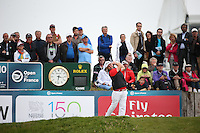 Andy Sullivan (ENG) drives down the 10th during Round Two of the 100th Open de France, played at Le Golf National, Guyancourt, Paris, France. 01/07/2016. Picture: David Lloyd | Golffile.<br /> <br /> All photos usage must carry mandatory copyright credit (&copy; Golffile | David Lloyd)