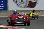 John Shirley races his 1949 Ferrari 166 MM at the 32nd Rolex Monterey Historic Automobile Races, 2005
