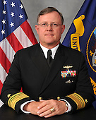 United States Navy Vice Admiral Giardina assumed duties as deputy commander of United States Strategic Command in December 2011. Giardina is a 1979 graduate of the U.S. Naval Academy. He is a graduate of CAPSTONE, PINNACLE, and numerous Navy business and joint warfighting courses, and holds an advanced degree in Business Administration.  He most recently served as deputy commander and chief of staff, United States Pacific Fleet. His most recent command assignment was as commander, Submarine Group Trident, Submarine Group Nine, and Submarine Group 10 where he was responsible for all 18 U.S. Trident Submarines.  On Saturday, September 28, 2013 it was announced Giardina has been suspended and is under investigation by the Naval Criminal Investigation Service for issues related to gambling.  <br /> Credit: DoD via CNP