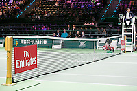Rotterdam, The Netherlands, Februari 8, 2016,  ABNAMROWTT, Centre Court, Fly Emirates<br />