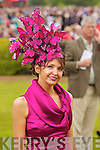 Winner of most Stylish hat, Milliner Carol Kennelly, pictured at Killarney Races Ladies day on Thursday.