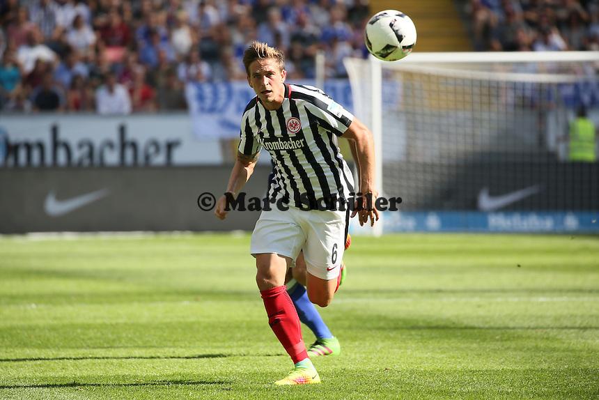 Bastian Oczipka (Eintracht Frankfurt) - 27.08.2016: Eintracht Frankfurt vs. FC Schalke 04, Commerzbank Arena