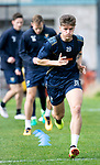 St Johnstone Training&hellip;.Ross Callachan pictured during training at McDiarmid Park ahead of Sundays game against Celtic.<br />