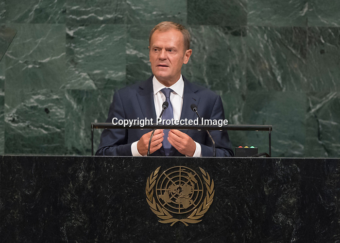 72 General Debate – 20 September <br /> <br /> <br /> Address by His Excellency Donald Tusk, President of the European Council of the European Union