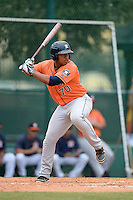 Houston Astros first baseman Dexture McCall (70) during an Instructional League game against the Atlanta Braves on September 22, 2014 at the ESPN Wide World of Sports Complex in Kissimmee, Florida.  (Mike Janes/Four Seam Images)