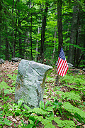 Smith Burying ground in Sandwich, New Hampshire. The Smith farmstead was occupied by three generations of the Smith family from the 18th century to the late 19th century.