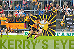 Wayne Gutrie Stacks goes past Crokes Andrew Kennelly