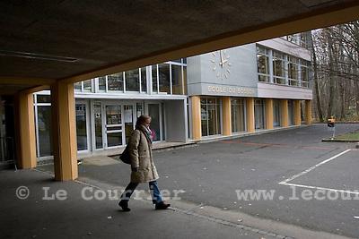 Genève, le 01.12.2008.Ecole du Bosson à Onex..© Le Courrier / J.-P. Di Silvestro