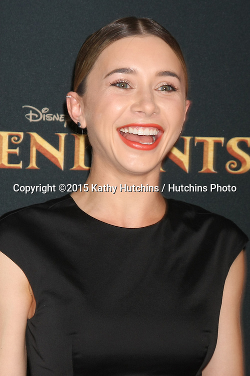 "LOS ANGELES - JUL 24:  Olesya Rulin at the ""Descendants"" Premiere Screening at the Walt Disney Studios on July 24, 2015 in Burbank, CA"