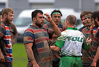 Action from the Manawatu senior 1 club rugby Val Holland Memorial Trophy final between Feilding Old Boys Oroua and Te Kawau at Arena Manawatu in Palmerston North, New Zealand on Saturday, 22 July 2017. Photo: Dave Lintott / lintottphoto.co.nz