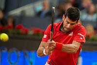 Serbian Novak Djokovic during ATP Semi-Finals Mutua Madrid Open Tennis 2016 in Madrid, May 07, 2016. (ALTERPHOTOS/BorjaB.Hojas) /NortePhoto.com