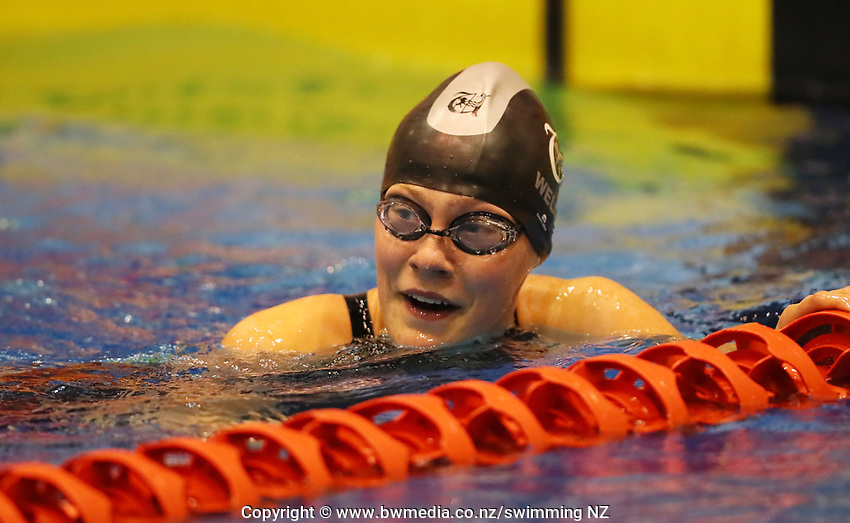 Jesse Welsh. Swimming New Zealand Aon National Age Group Championships, Wellington Regional Aquatic Centre, Wellington, New Zealand, Wednesday 17 April 2019. Photo: Simon Watts/www.bwmedia.co.nz