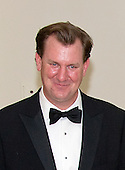 Marvin Nicholson, Special Assistant to the President, Trip Director &amp; Personal Aide to the President, arrives for the State Dinner in honor of Prime Minister Trudeau and Mrs. Sophie Gr&eacute;goire Trudeau of Canada at the White House in Washington, DC on Thursday, March 10, 2016.  Nicholson is a frequent golfing partner with President Barack Obama.<br /> Credit: Ron Sachs / Pool via CNP