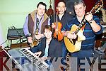 Members of Kilflynn choir at rehearsals on Sunday were Ann Mahony, Fergus O'Sullivan, Sean Abeyta and Gene O'Sullivan..