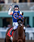 DEC 28: Mirth with Mike Smith wins the Robert Frankel Stakes at Santa Anita Park in Arcadia, California on December 28, 2019. Evers/Eclipse Sportswire/CSM
