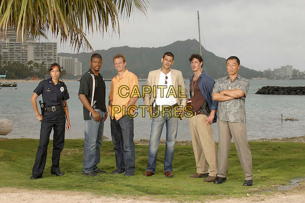 AYA SUMIKA, SHARIF ATKINS, MICHAEL BIEHN, IVAN SERGI, ERIC BALFOUR & CARY-HIROYUKI TAGAWA.in Hawaii.*Editorial Use Only*.www.capitalpictures.com.sales@capitalpictures.com.Supplied by Capital Pictures.