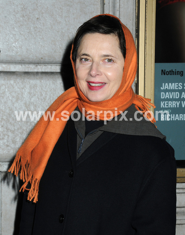 "**ALL ROUND PICTURES FROM SOLARPIX.COM**.**SYNDICATION RIGHTS FOR UK, AUSTRALIA, DENMARK, PORTUGAL, S. AFRICA, SPAIN & DUBAI (U.A.E) ONLY**.Arrivals for the Opening Night of ""Race"" at the Ethel Barrymore Theatre, New York City, NY, USA. 6 December 2009..This pic: Isabella Rossellini..JOB REF: 10363 PHZ Mayer   DATE: 06_12_2009.**MUST CREDIT SOLARPIX.COM OR DOUBLE FEE WILL BE CHARGED**.**MUST NOTIFY SOLARPIX OF ONLINE USAGE**.**CALL US ON: +34 952 811 768 or LOW RATE FROM UK 0844 617 7637**"