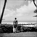 Reef Macintosh at the Quiksilver house on the Northshore of Hawaii.