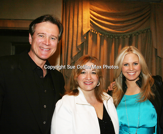 Frank Dicopoulos & Lisa Edmonds (chaired event & with Cancer Foundation) & Terri Colombino attend the Shower with the Stars which benefits the Young Women's Breast Cancer Foundation and Cancer Caring Center of Pittsburgh on March 26, 2010 at the LeMont Restaurant, Pittsburgh, PA. (Photo by Sue Coflin/Max Photos)