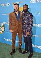 Joel Edgerton &amp; David Oyelowo at the world premiere for &quot;Gringo&quot; at the L.A. Live Regal Cinemas, Los Angeles, USA 06 March 2018<br /> Picture: Paul Smith/Featureflash/SilverHub 0208 004 5359 sales@silverhubmedia.com