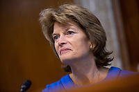 United States Senator Lisa Murkowski (Republican of Alaska) speaks during the U.S. Senate Committee on Energy and Natural Resources hearing considering the nomination of Dan Brouillette to be Secretary of Energy on Capitol Hill in Washington D.C., U.S., on Thursday, November 14, 2019.  <br /> <br /> Credit: Stefani Reynolds / CNP/AdMedia