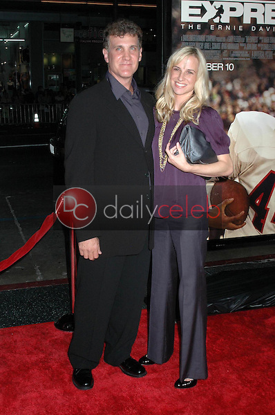 Gary Fleder with wife<br />